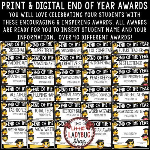 Emoji End of Year Awards