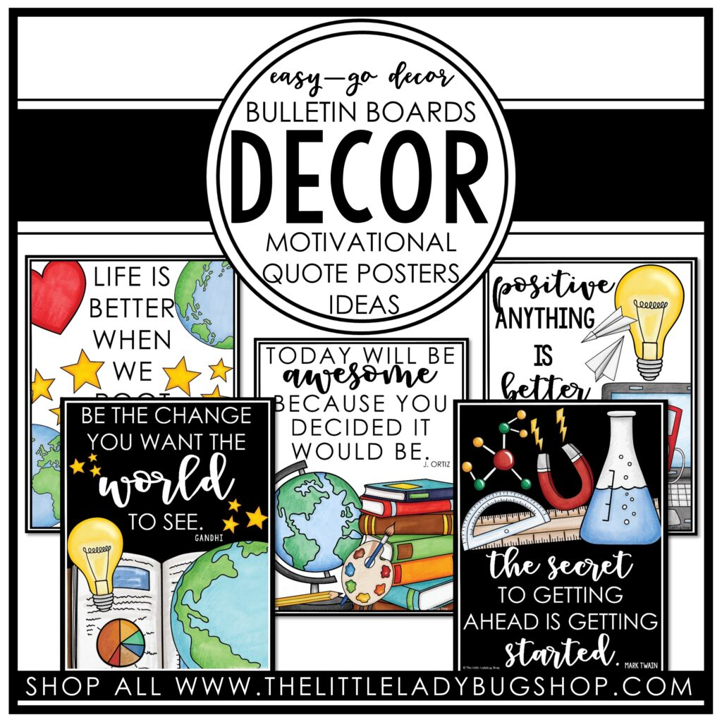 Bulletin Board Ideas for Classroom Decor