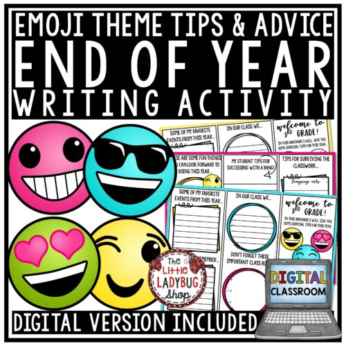Emoji End of Year Advice for Future Students