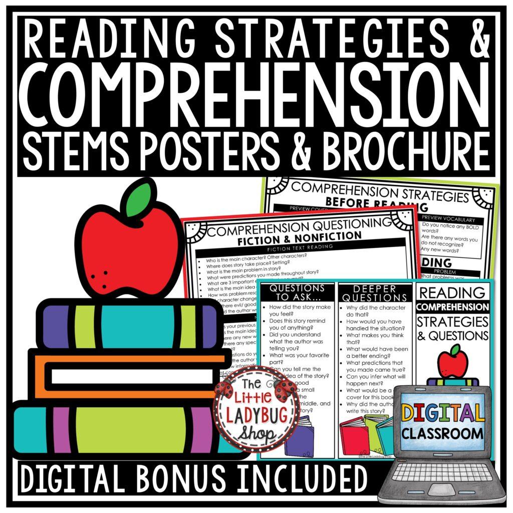 Teaching Reading Skills & Strategies Ideas Plus Freebie
