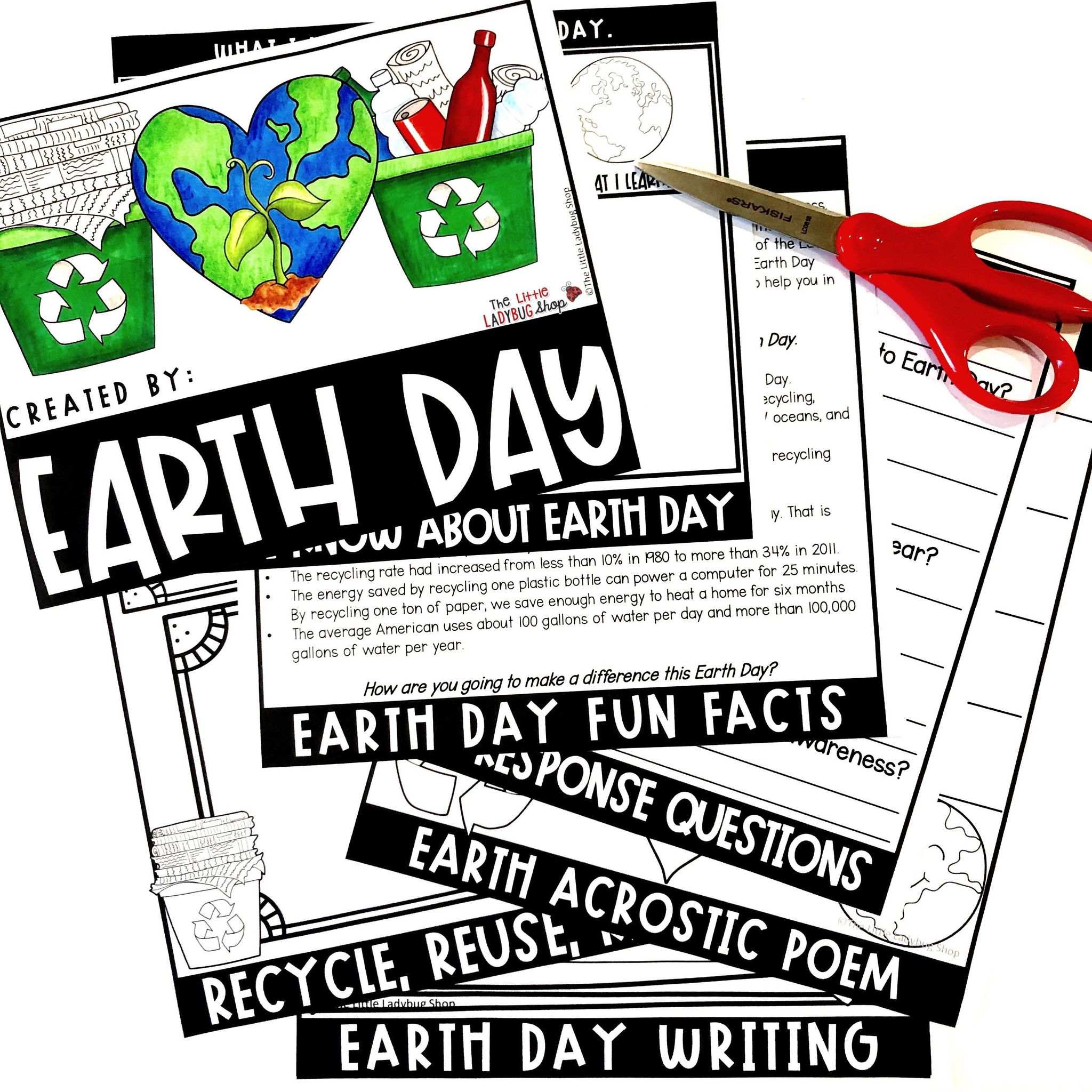 Earth Day Activities for Upper Elementary