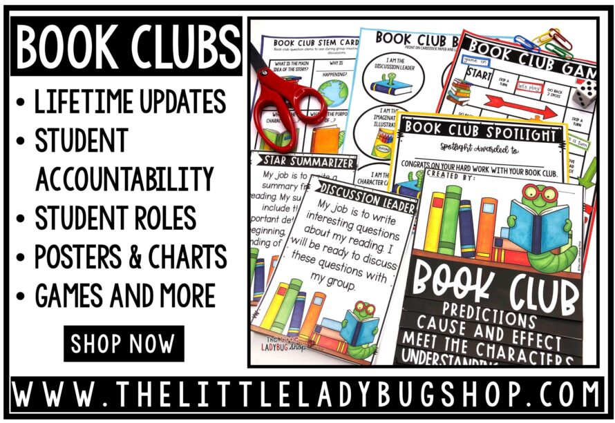book club activities and ideas
