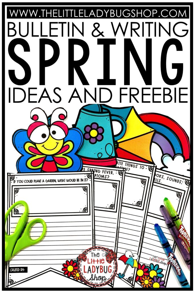 Spring Writing Bulletin Board Ideas