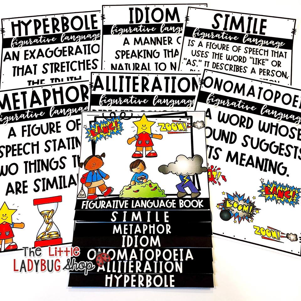 Teaching Figurative Language Activities